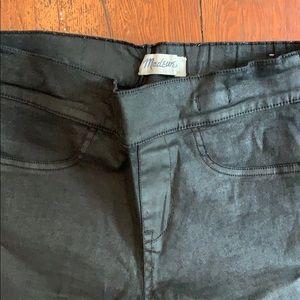 7c5a28503fb221 Women Madewell Leather Leggings on Poshmark